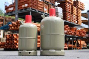 Le gaz en bouteille peut représenter une solution simple pour produire son eau chaude